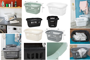 Wham Plastic Laundry Basket Hipster Storage Baskets Washing Clothes Linen Bin