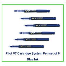 Pilot Hi-tecpoint V7 cartridge System Pen(Blue)(set of  6):9000020450