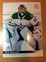 UPPERDECK SP AUTHENTIC 2019-2020 BEN BISHOP HOCKEY CARD #9 DALLAS STARS
