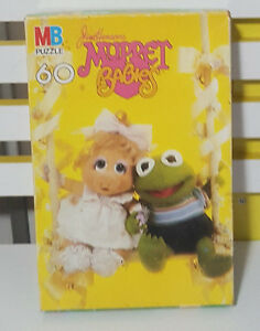 JIM HENSONS MUPPET BABIES 60 PIECE PUZZLE KIDS TOY! CLASSIC 90S TOYS TV SHOW!