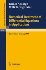 Numerical Treatment of Differential Equations in Applications : Proceedings,...
