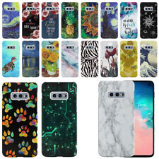 """For Samsung Galaxy S10E G970 5.8"""" Design HARD Protector Back Case Phone Cover"""