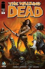 Walking Dead Wizard World Comic Con Richmond  Variant Color Cover Ken Kelly