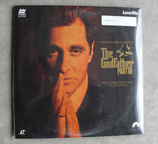 Vintage The Godfather Part III Final Director's Cut Movie Laserdisc Sealed