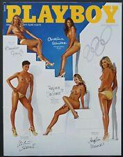 Playboy D 08/2012 August 2012 Olympia Girls,Gabriela Milagre,Sport Stars Y80