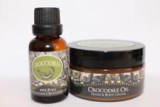 12ml Crocodile Oil &100g Rosemary Scented Hand/Body Cream