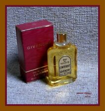 """ L' INTERDIT "" NIB EDT by GIVENCHY 60ml splash Made in France Vintage 70s"