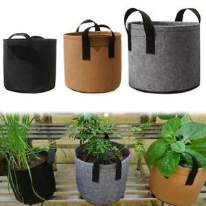 5/7/10 Gallon Planter Bags Fabric Grow Pots flower fruit Planting smart Bag