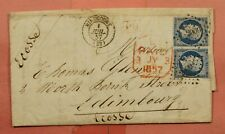 DR WHO 1857 FRANCE F/L MIRECOURT TO SCOTLAND  165710