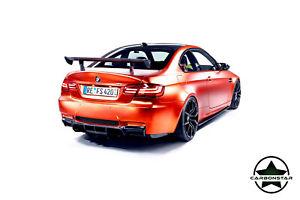 Cstar Carbon Gfk Heckflügel Motorsport Flügel passend für BMW E82 1M GTS GT4