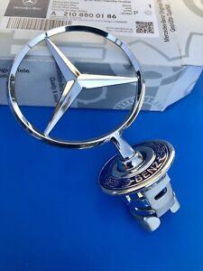 Logo Hood Mercedes Star E W204 W221 W211 W212 W219 Badge Original A210880186