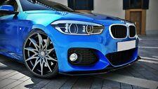 Cup Spoilerlippe schwarz für BMW 1er F20 F21 Lippe Diffusor schwert M Paket ABS
