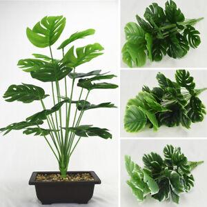 50cm Large Artificial Plants Office Home Indoor Garden Faux Plant Tree Deco
