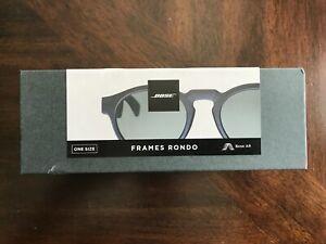BOSE FRAMES RONDO Audio Sunglasses Bluetooth Black NEW SEALED