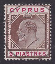 Cyprus. SG 56, 9pi brown & carmine. Very fine used.