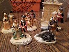 Sebastian Miniatures Figures Lot of 5 - Washington Copr 1947 1958 1970