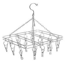 Square Hanging Wire Display Rack 20 Metal Clip Ons display flags tshirts Ect