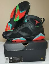 Nike Air Jordan VII 7 Retro Barcelona Night Men's 10 w Box Bordeaux Hare Martian