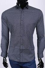 New Salvatore Ferragamo  men's shirt,Size L,Retail 339 euro,blue