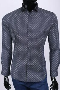 New Salvatore Ferragamo  men's shirt,Size L,Retail 339 euro,blue