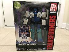 Transformers Titans Return Leader Class Overlord & Dreadnaut Hasbro New in Box