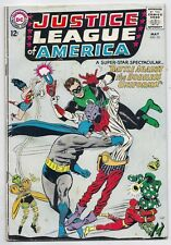 (1965) Justice League Of America #35 Flash Vs Pied Piper! Wonder Woman! 3.5 Vg-