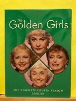 Pre-owned ~ The Golden Girls: The Complete Fourth Season (DVD, 2006, 3-Disc Set)