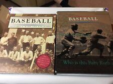 Baseball: An * Illustrated * History Jeffrey C Ward And Ken Burns 1994