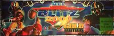 "NFL Blitz 2000 Gold Edition Arcade Marquee 26""x8"""