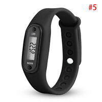 Digital Pedometer Calorie Counter Run Step Walk Sport Distance Bracelet Watch