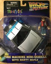 NEW Minimates Back To The Future Marty Figure With Time Machine