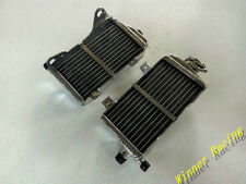 CUSTOM aluminum radiator Honda CR500AF; FRAME CRF450 2014 with engine CR500 2000