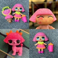 Lot 3Pcs LOL Surprise Dolls GLITTER QUEEN & LiL & Pet Real L.O.L. Toy Girl Gift