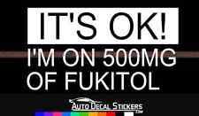 FUKITOL Car Decal Sticker Funny Auto Vinyl Window Art Cute Got Graphic Honk  #6