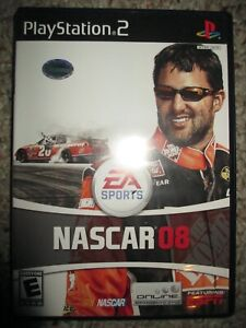 NASCAR 08  (Sony PlayStation 2, 2007) PS2 Complete