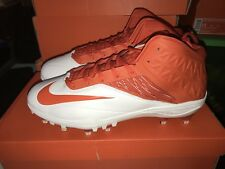 Ds Nike Zoom Code Elite 3/4 Td White Orange Football Cleats Size 16