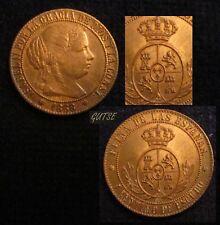 *GUTSE*634-ISABEL II, 1 CÉNTIMO DE ESCUDO 1868, BARCELONA OM, S/C-