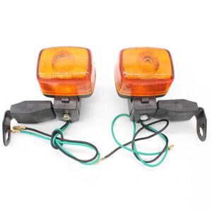 2 x Rear Turn Signals Blinker Indicator For Yamaha XT200 XT125 82-83,SEROW 99-06