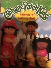 Cabbage Patch Kids Coloring And Activity Book