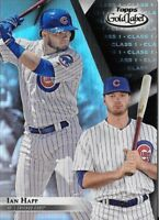 Ian Happ 2018 Topps Gold Label Class 1 Black Parallel Cubs #32