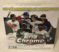2020 Topps Chrome Update Series Baseball Box - On Hand Ready To Ship White Box