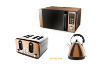 Tea Kettle Amp Toaster Sets With Microwave Ebay