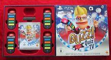 Buzz Quiz TV Special Edition, 4 Buzzer USB-Wireless-Buzz, PlayStation 3 Spiel