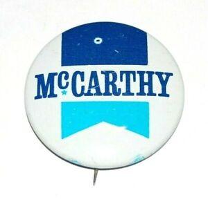 1968 EUGENE MCCARTHY gene campaign pin pinback button political presidential
