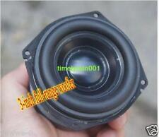 """2pcs For peerless 3"""" inch full-range bass speaker Long Stroke Aluminum cone"""