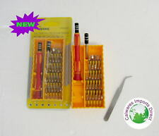 31 PIECE DRIVER SET MECHANIC TOOL SET KIT IN TOOL BOX FOR CAR BIKE BOAT HOME