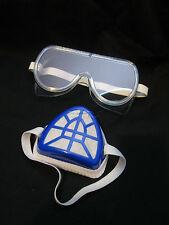 Sustancia química Industrial De Gas Filtro anti polvo no tóxico Máscara Respirador Gafas De Seguridad