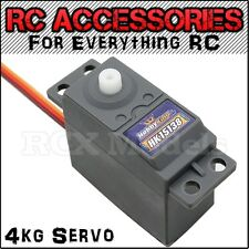 4kg Steering Throttel Servo For HSP servo Traxxas RC Car 1/10 Electric Nitro UK