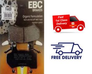 HARLEY DAVIDSON ELECTRA GLIDE 2008 - 2020 EBC Organic REAR Brake Pads FA409 X1