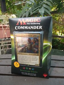 2016 COMMANDER DECK STALWART UNITY FACTORY SEALED MAGIC THE GATHERING US Version